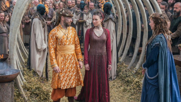 A Viking wedding as depicted in the History Channel TV show