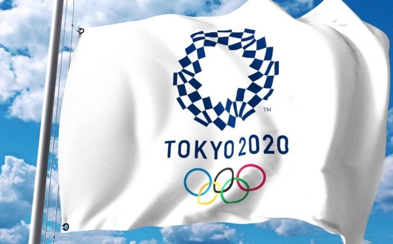 Tokyo 2020 Olympic flag