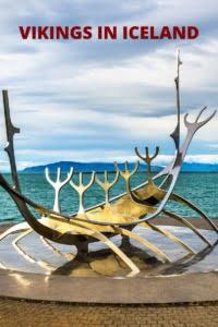 Vikings in Iceland Pin