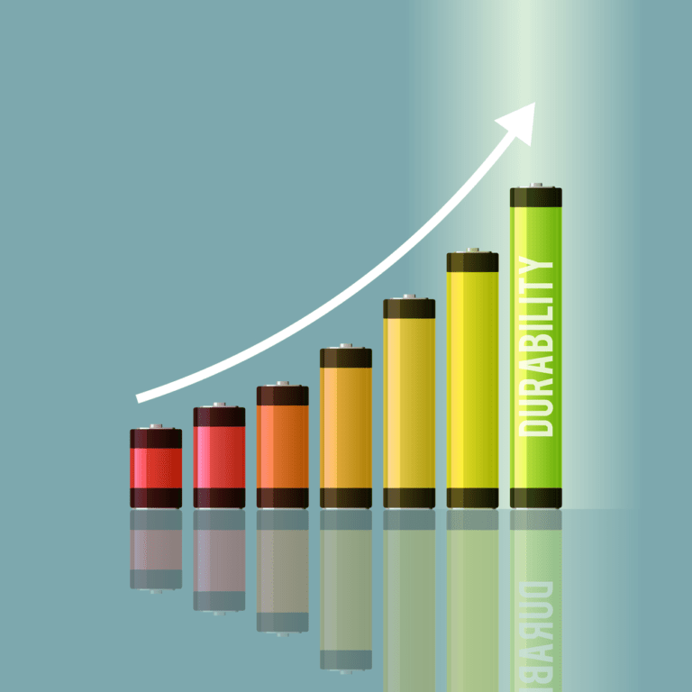Battery concept graphic