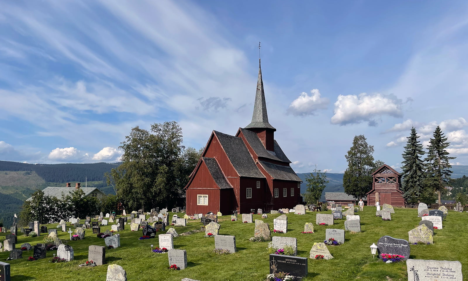 Hegge Stave Church in Norway
