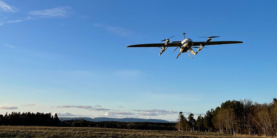 Medical drone transport in Central Norway