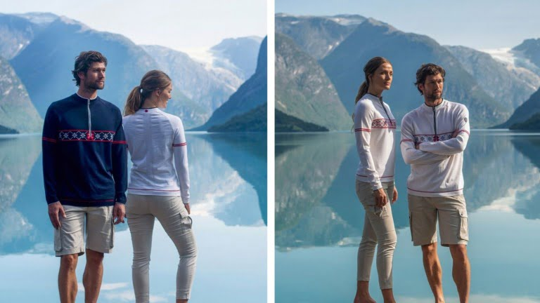 Men's and Women's Norway Olympic sweater for Tokyo 2020