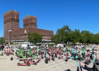 City of Oslo Cracks Down on Electric Scooter Rentals
