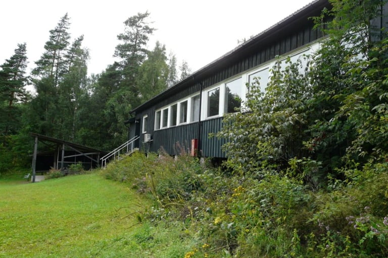 Residential building on Utøya island in Norway