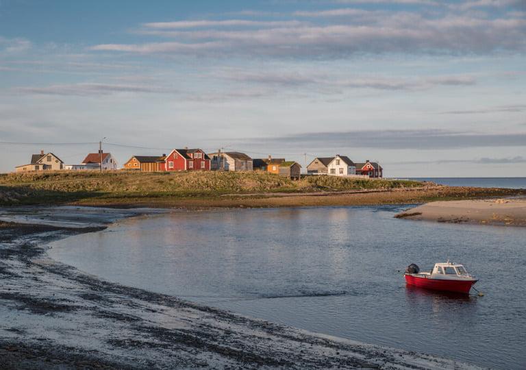A small coastal community in Varanger, Norway