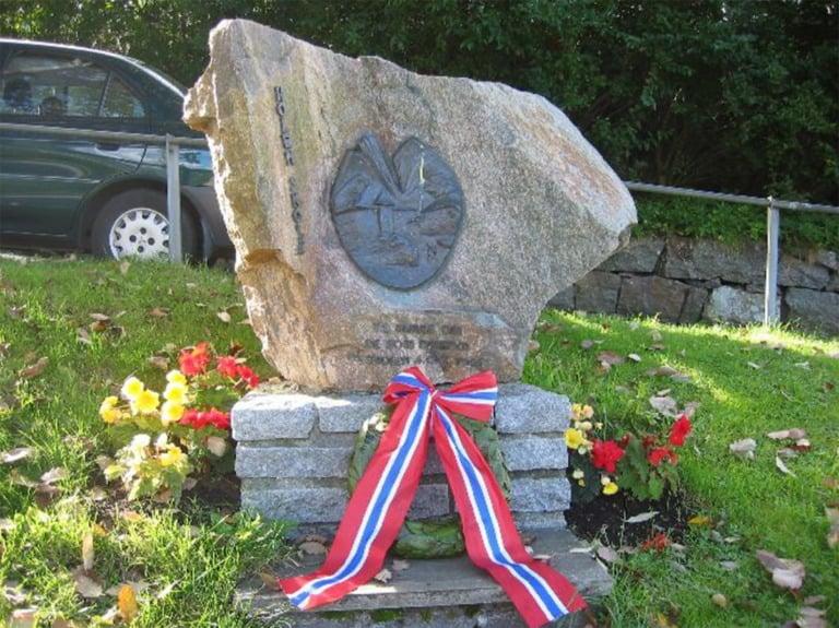 War memorial in Laksevåg