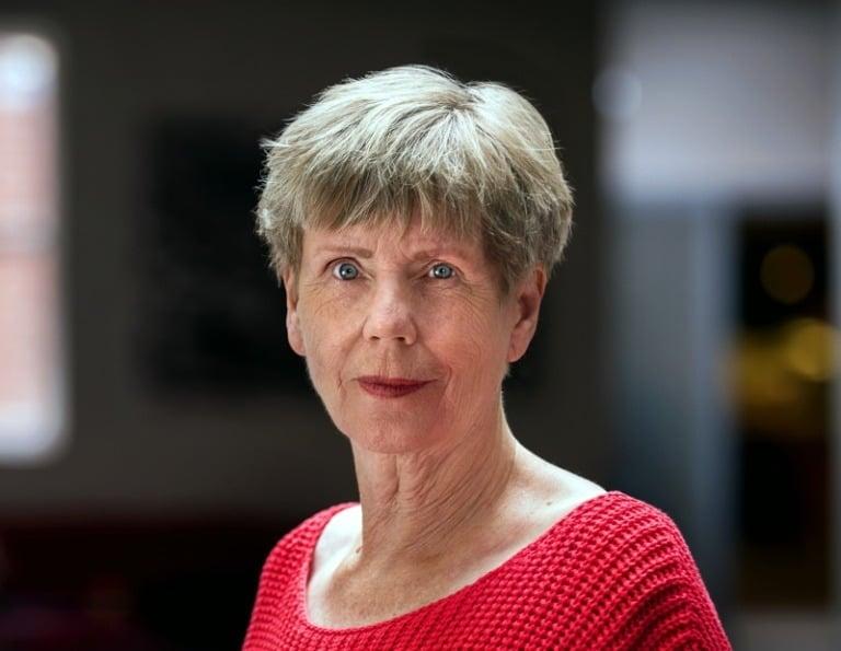 Norwegian author Karin Fossum