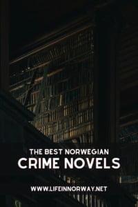 Norwegian Crime Novels pin