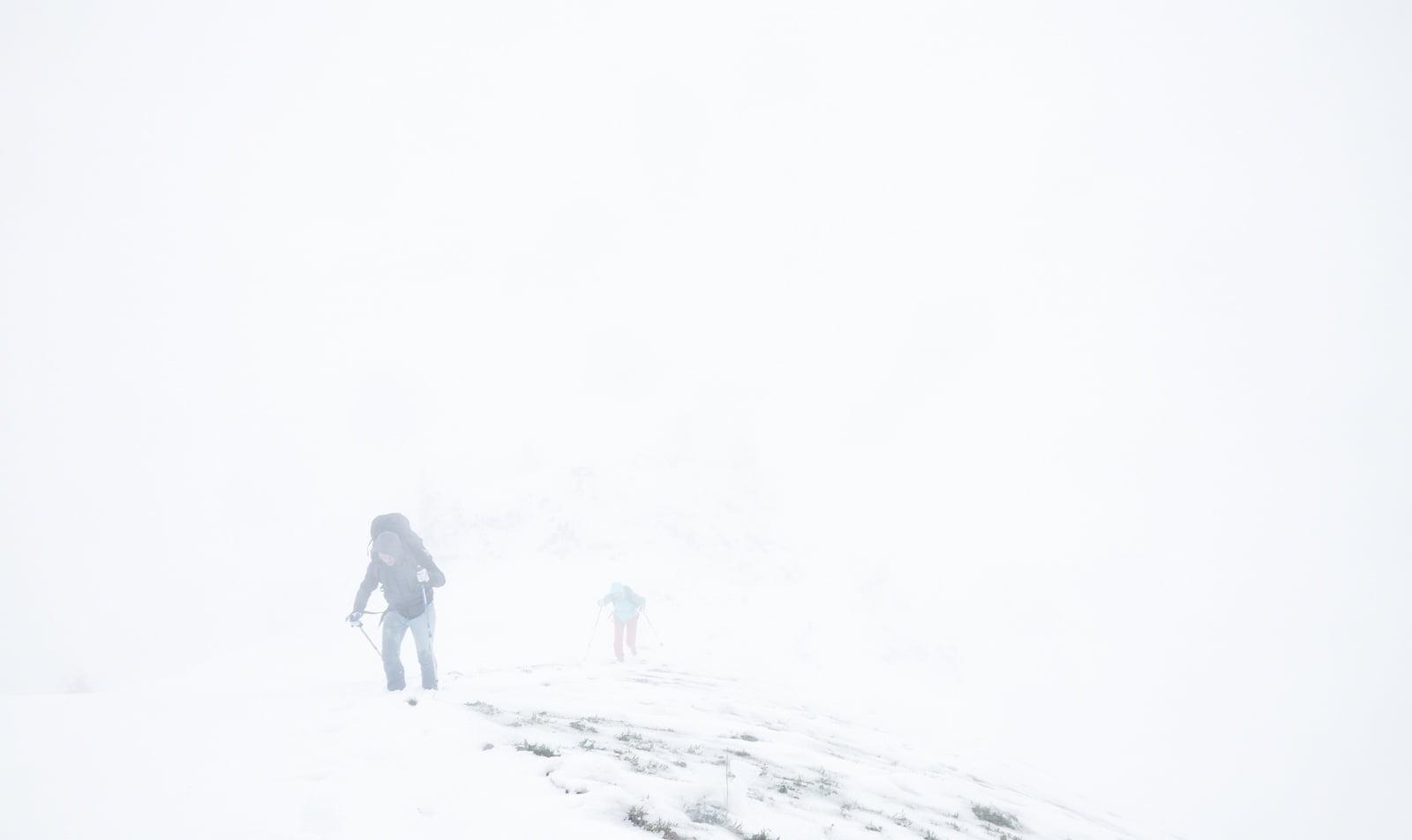 Winter storms in Norway