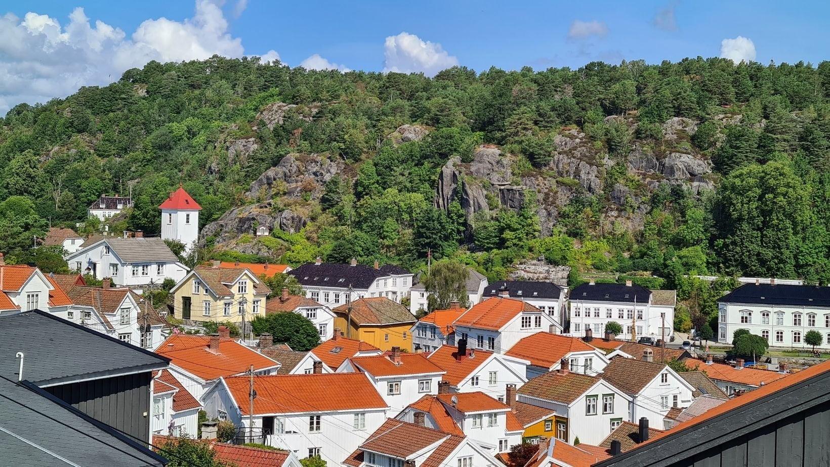 Tak i Riser i Sør -Norge