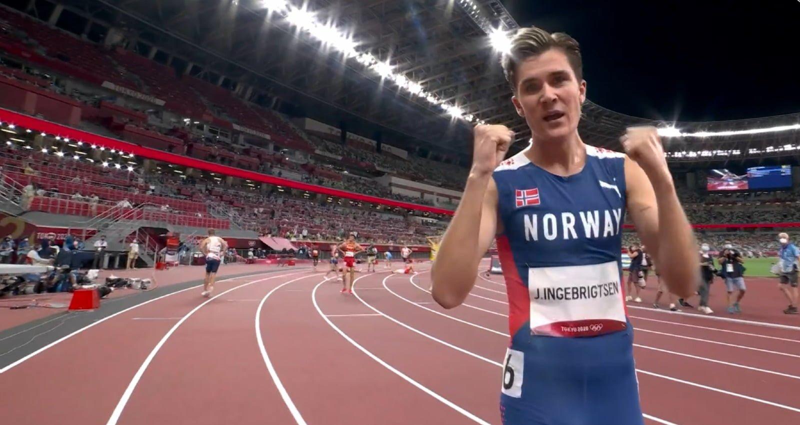 Jakob Ingebrigtsen wins Olympic Gold for Norway