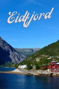 Eidfjord in Norway Pin