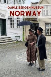 Gamle Bergen Museum Pin