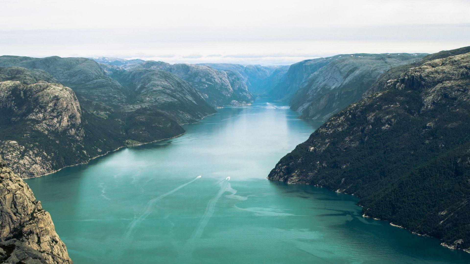 Lysefjord sightseeing in Norway