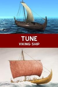 Tune Viking Ship Pin