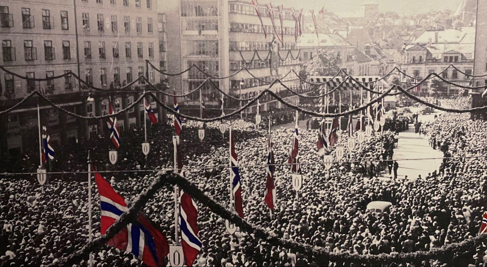 Bergen celebrates the end of war occupation