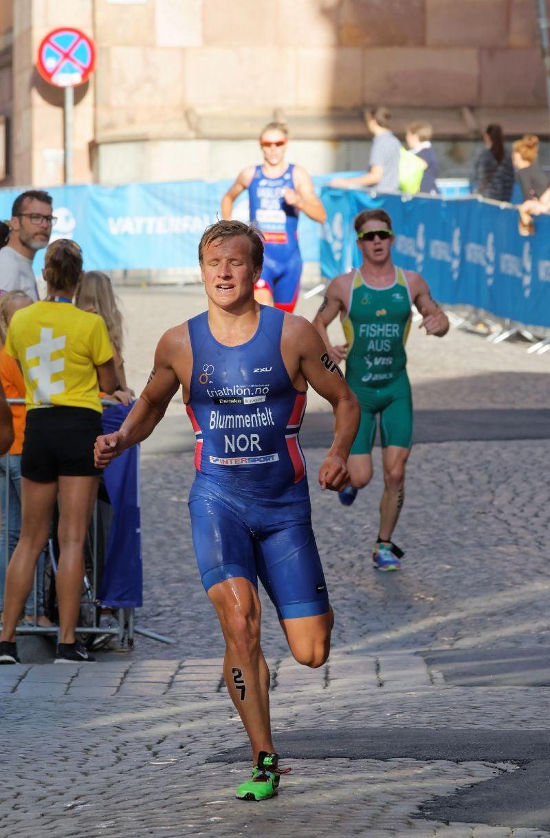 Kristian Blummenfelt, Norwegian triathlete and Olympic gold medallist