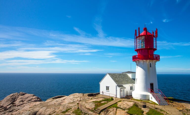 Lindesnes, Norway's southern cape.