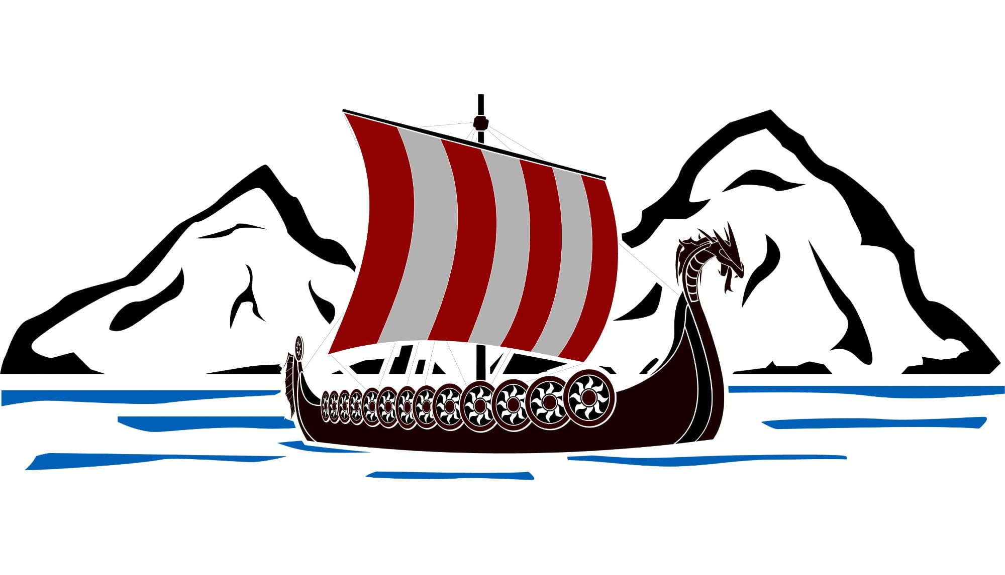 Norwegian history timeline of the Vikings