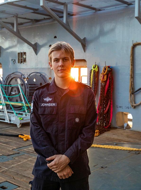 Apprentice on KV Bison.
