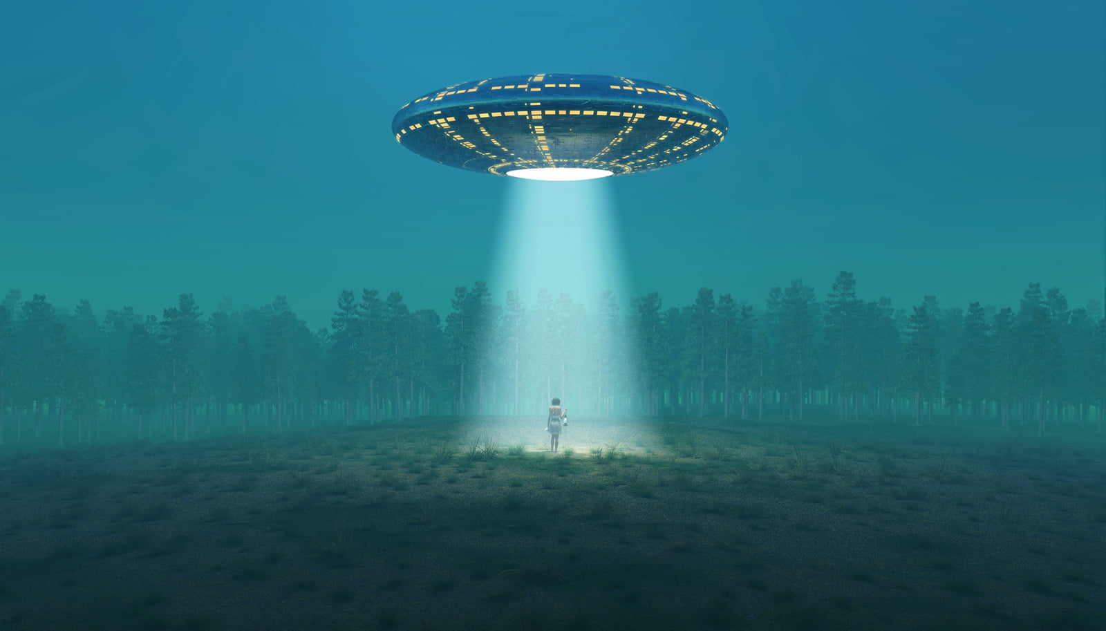 Illustration of Norway UFO