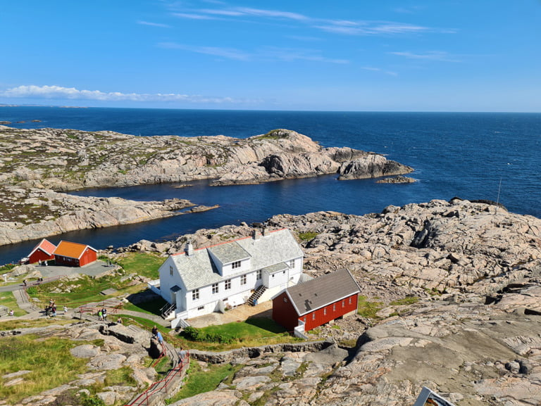View from Lindesnes fyr