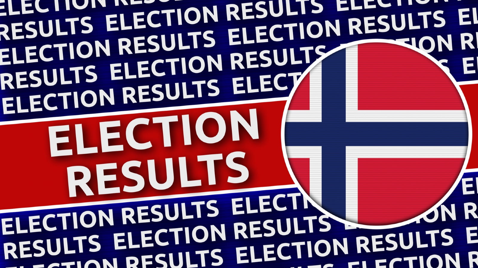 Norway 2021 election results graphic