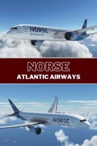 Norse Atlantic Airways Pin
