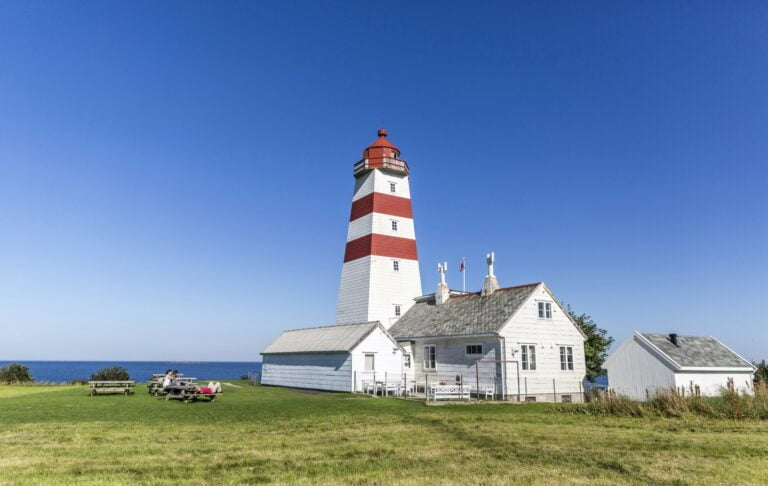 Alnes lighthouse in Norway