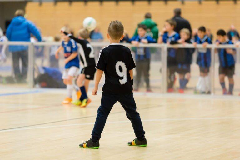Children playing sport in Norway