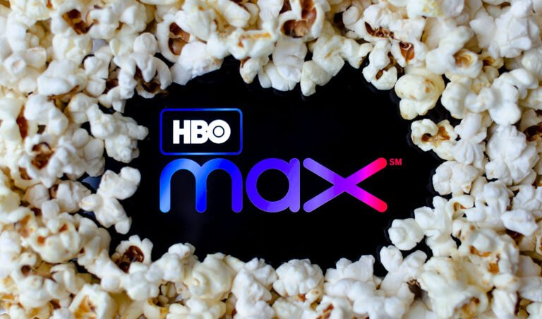 HBO Max and popcorn
