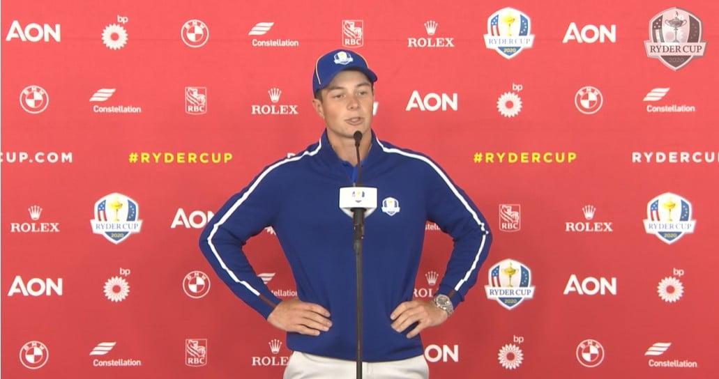 Norwegian Golf Pro Viktor Hovland