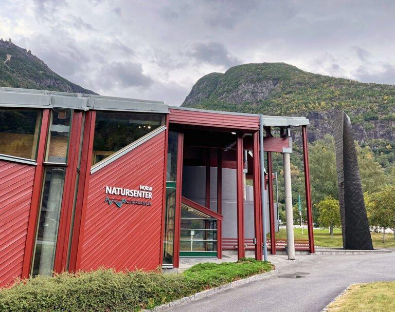 The Norwegian Nature Centre Hardanger in Eidfjord, Norway