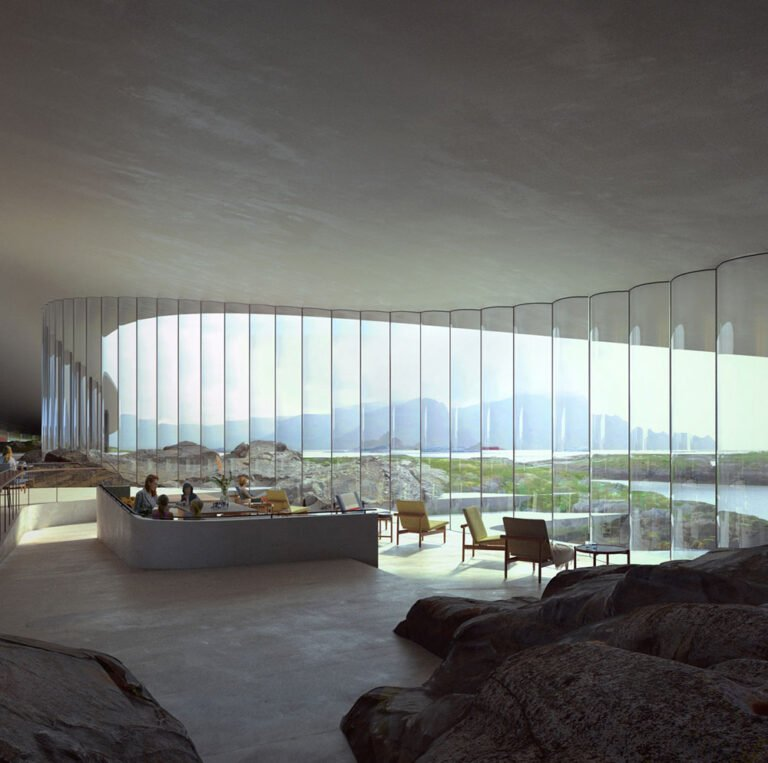 Proposed interior design of The Whale