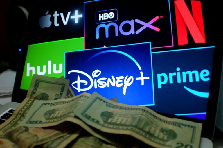 TV streaming competition with money.