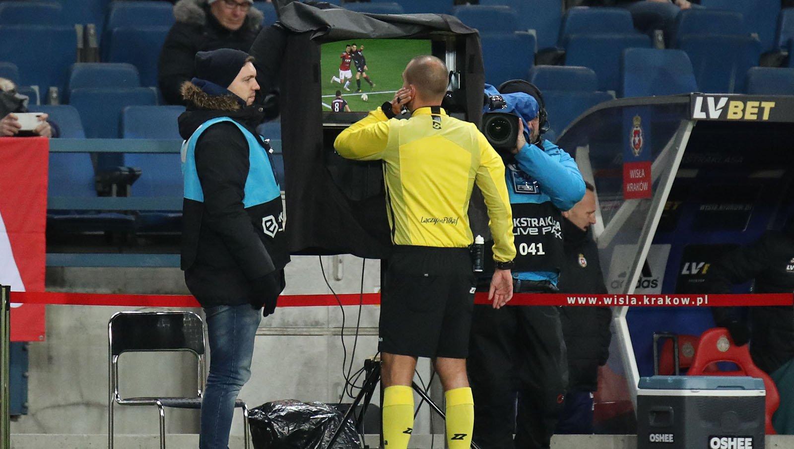 VAR technology in football