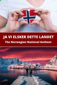 The Norwegian National Song Pin