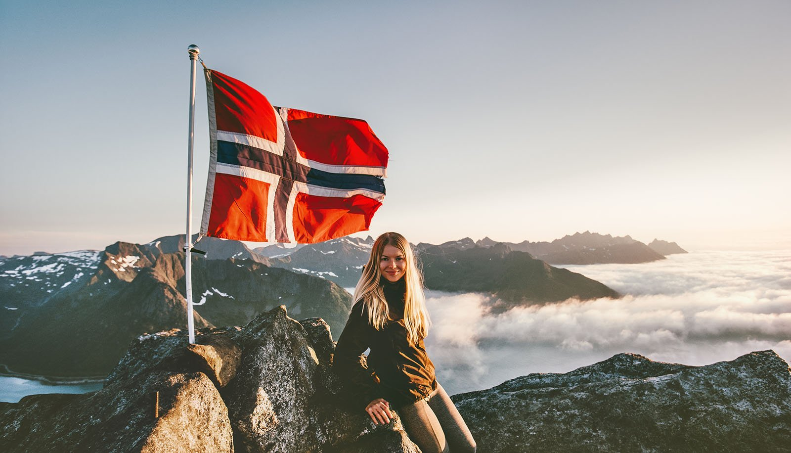 Learning Norwegian on a hike