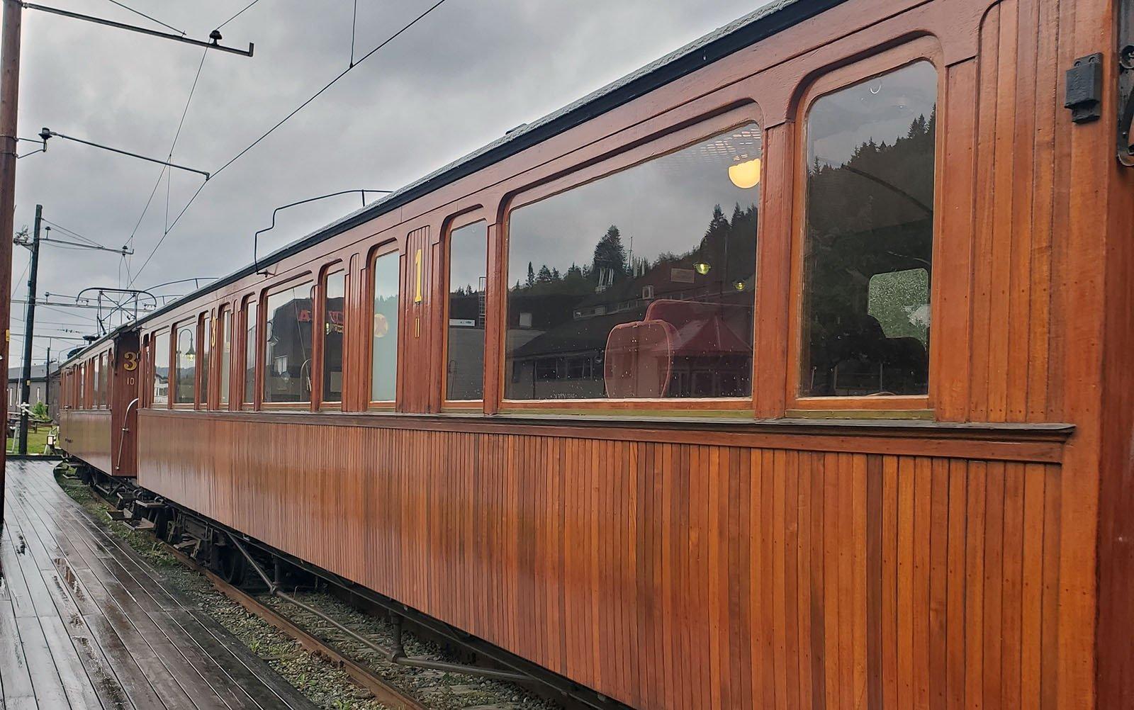The Orkanger Heritage Railway near Trondheim, Norway